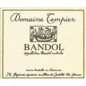 Domaine Tempier Bandol rouge 2018 etiquette