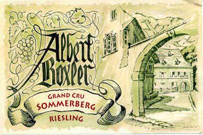 Jean Boxler - Domaine Albert Boxler
