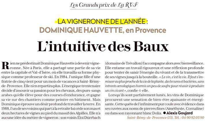 hauvette-provence-article-rvf-fevrier-2020-vigneronne-de-l-annee