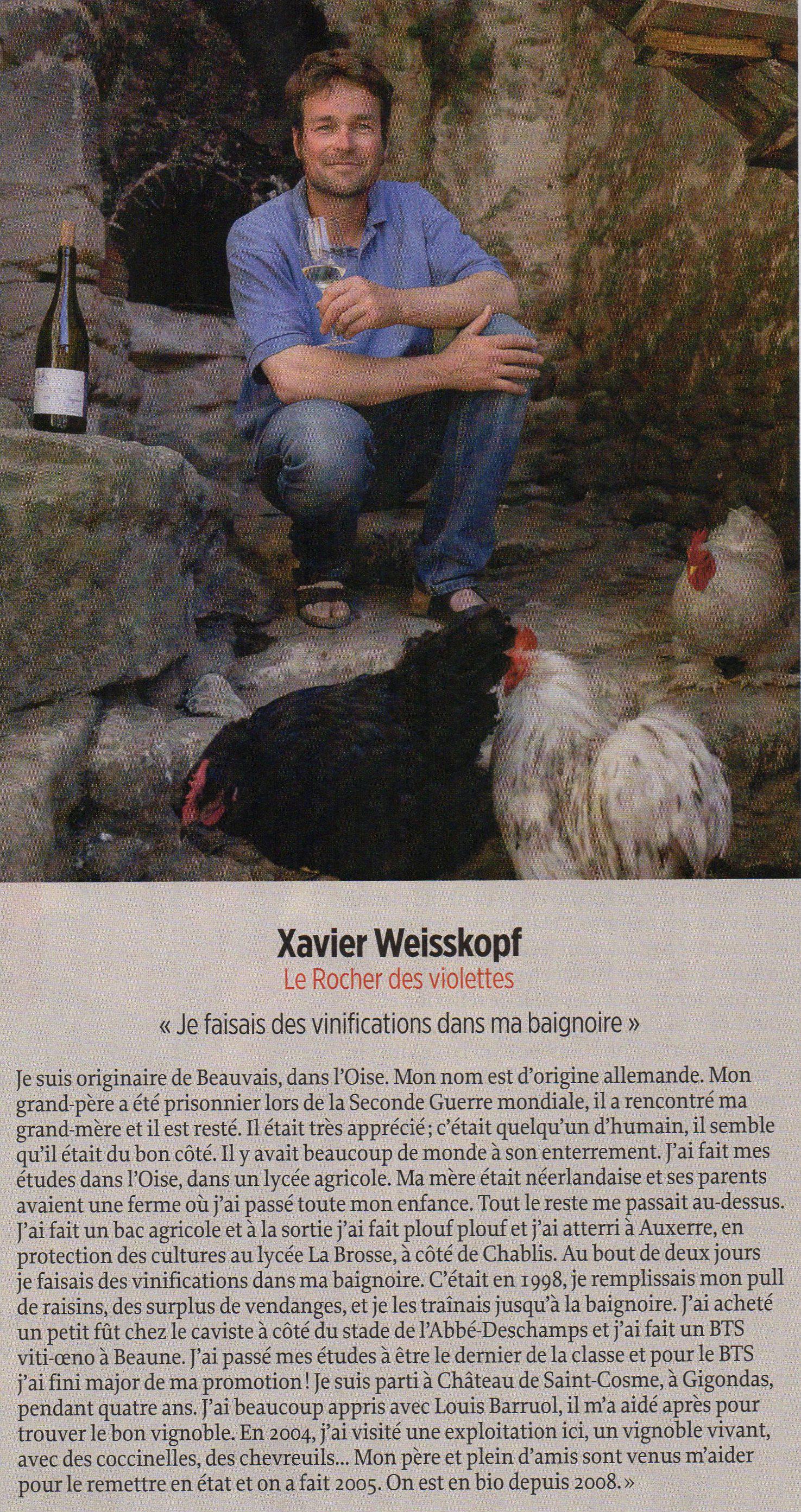 Le Rocher des Violettes - Xavier Weiskopf