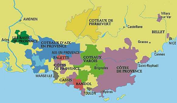 Carte-vin-Provence